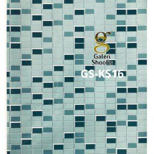 Stiker Dapur & Kamar Mandi kode KS16