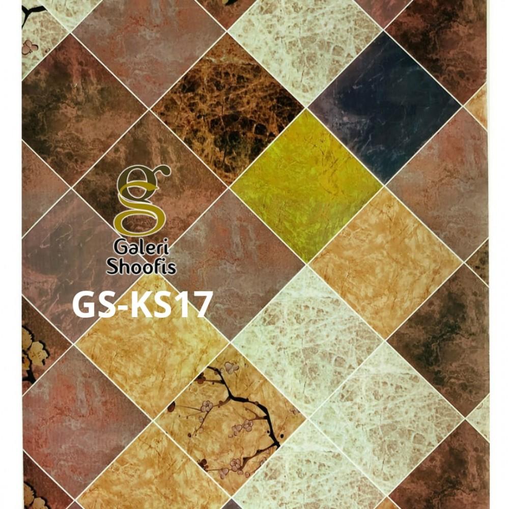 Stiker Dapur & Kamar Mandi kode KS17
