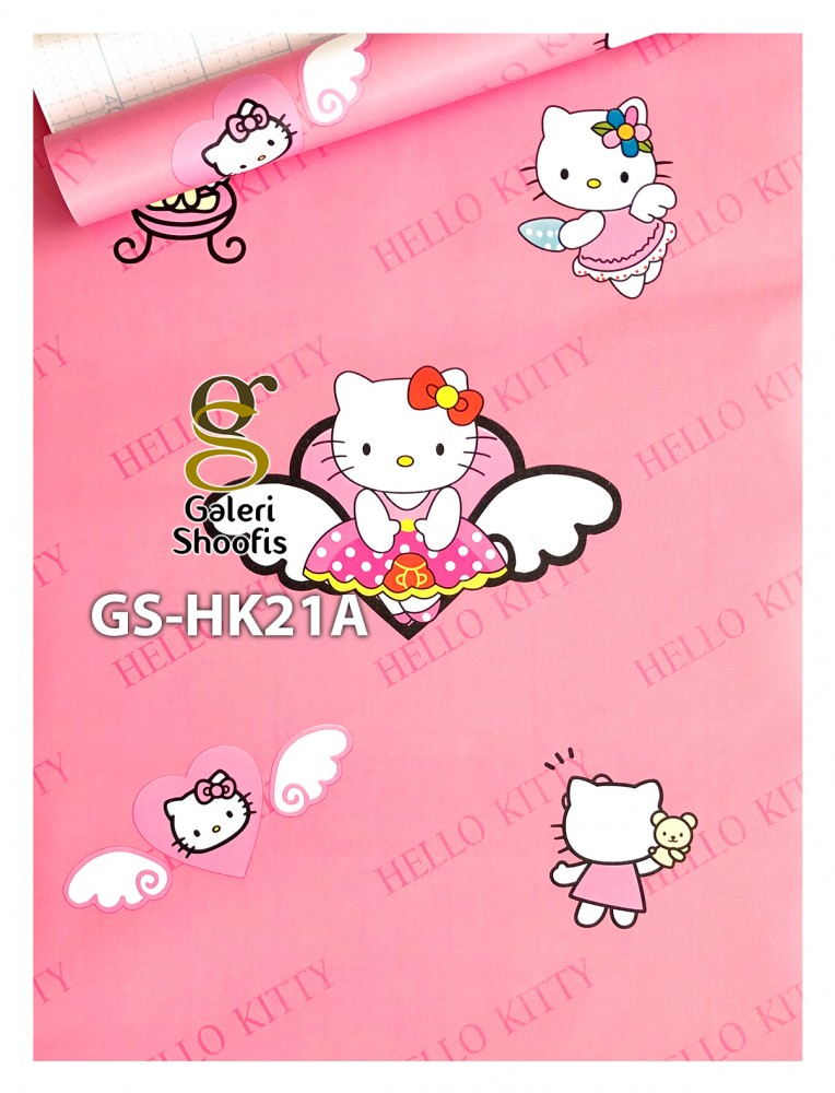 Wallpaper Sticker Hello Kitty Angel kode GS-HK21A