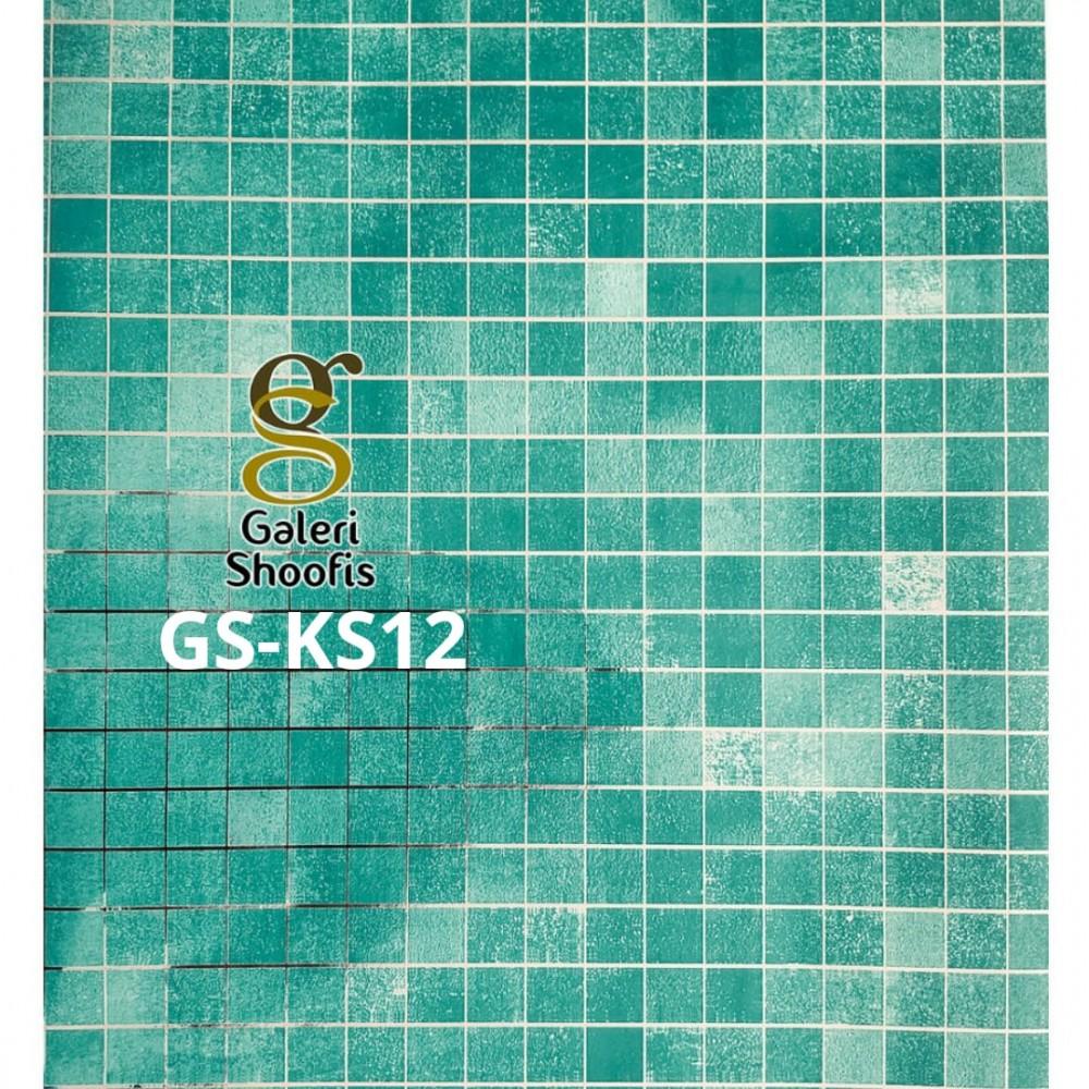 Stiker Dapur & Kamar Mandi kode KS12