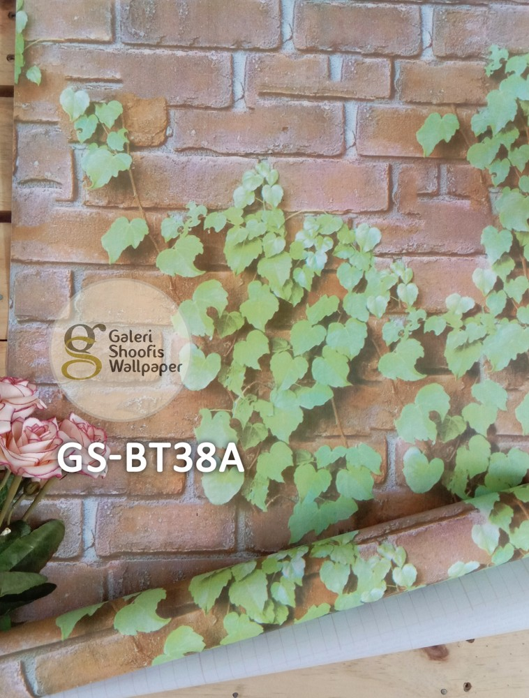 Wallpaper Sticker Motif Batu Alam Kode GS-BT38A