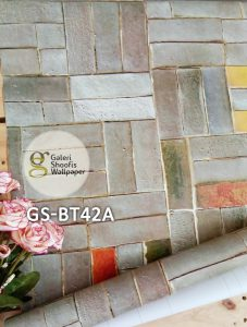 Wallpaper Sticker Motif Bata kode GS-BT42A