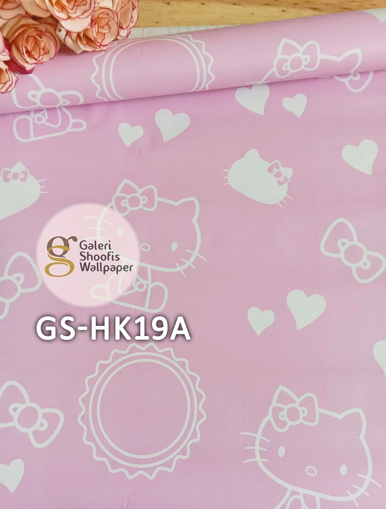Wallpaper Sticker Motif Hello Kitty Kode GS-HK19A