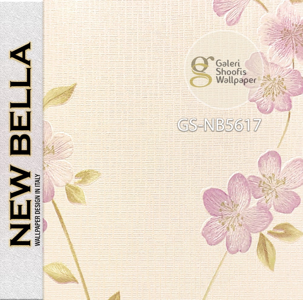 Wallpaper Premium New Bella kode NB5617
