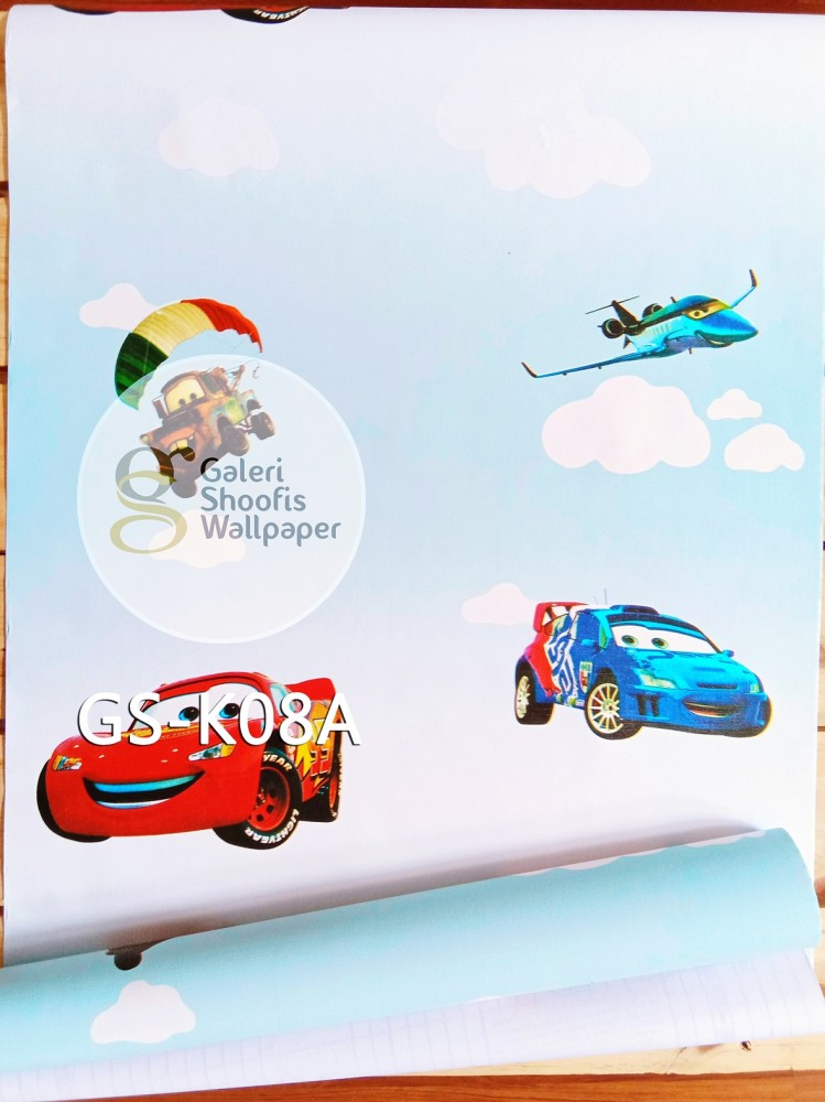 Wallpaper Sticker Motif Cars kode GS-K08A