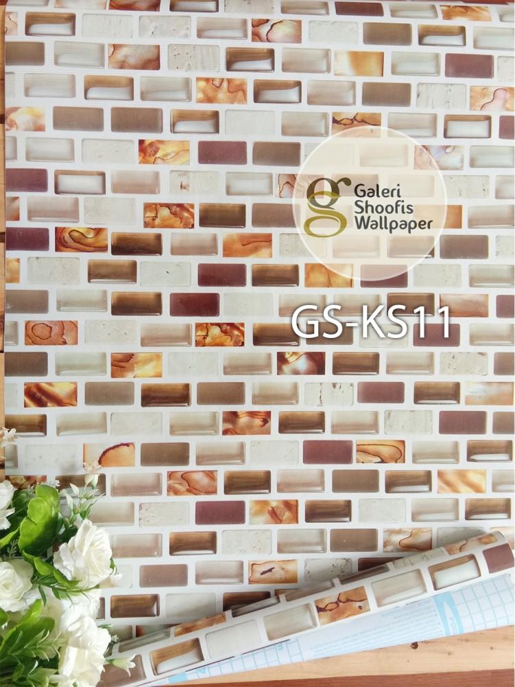 Stiker Dapur & Kamar Mandi kode KS11