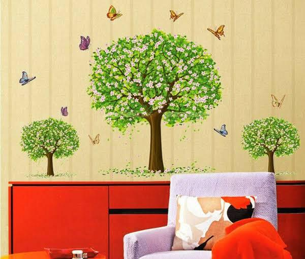Wall Sticker 3 Pohon Rindang