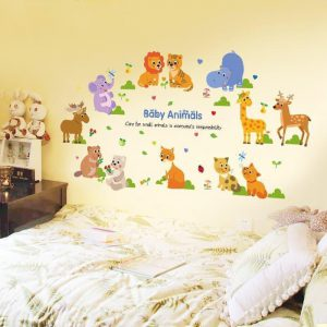Wall Sticker Baby Animals