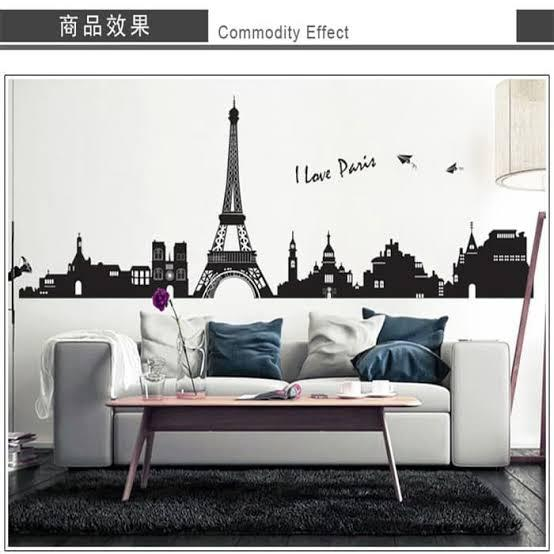 Wall Sticker I Love Paris
