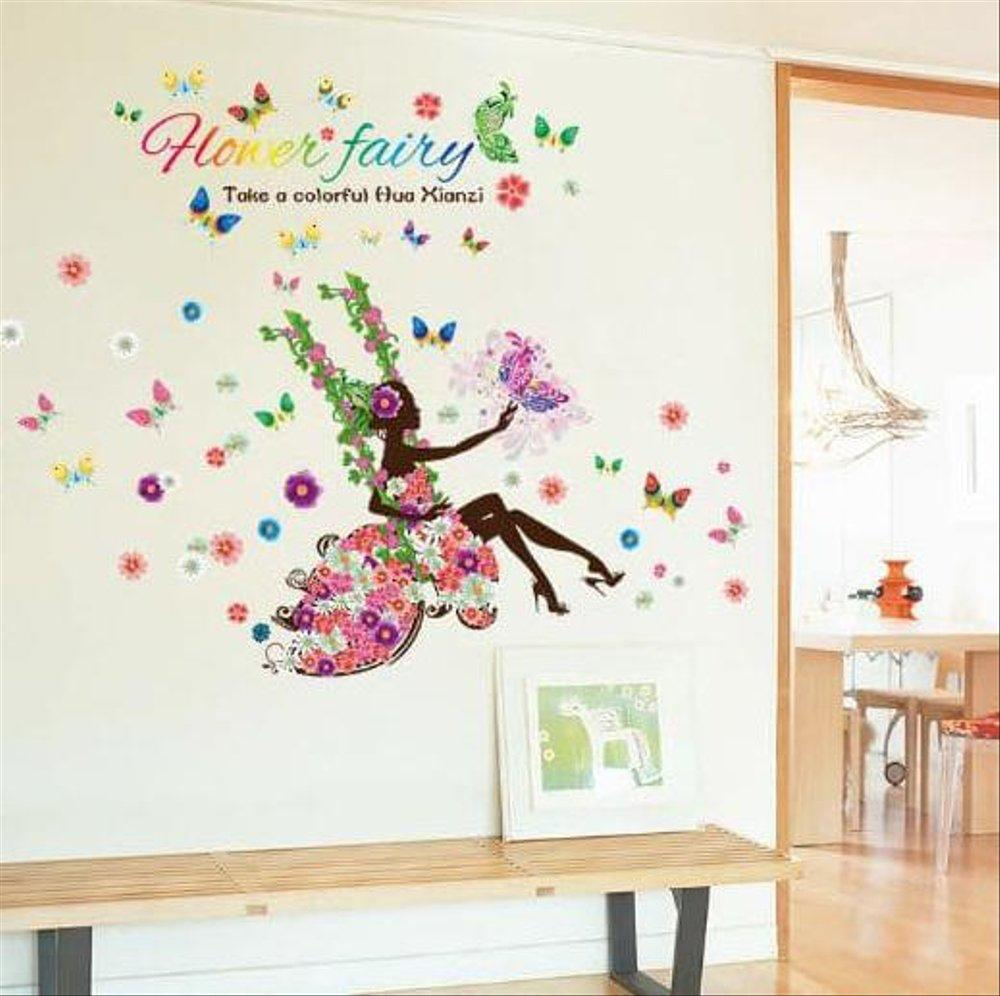 Wall Sticker Peri Bunga