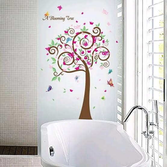 Wall Sticker Pohon Blooming
