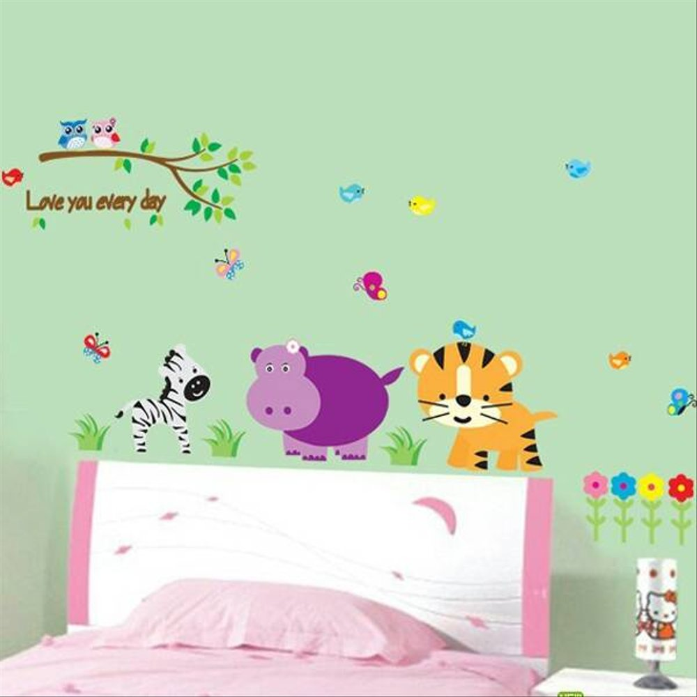 Wall sticker Stiker Dinding Binatang AY9046