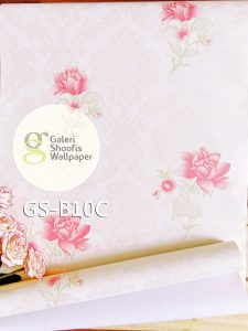 Wallpaper Sticker Motif Bunga kode B10C