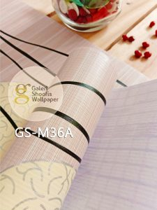 Wallpaper Sticker Motif Garis Polka kode GS-M36A