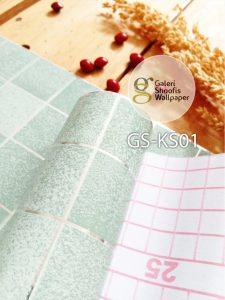 Stiker Dapur & Kamar Mandi kode KS01