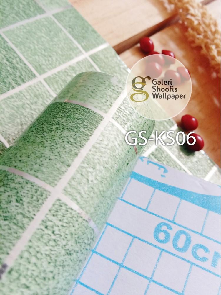 Stiker Dapur & Kamar Mandi kode KS06