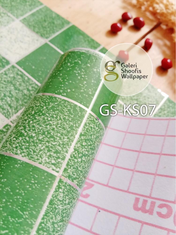 Stiker Dapur & Kamar Mandi kode KS07